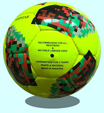 1 Stop Soccer Futsal Ball Official Low Bounce Green Size 4