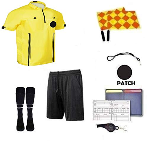 1 Stop Soccer Referee 9 Piece Package