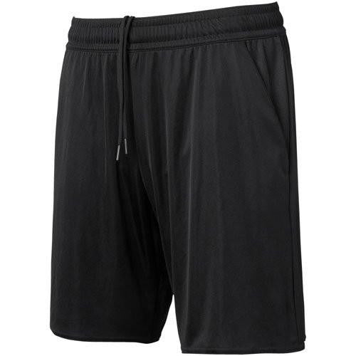 Referee Soccer Short Black Solid