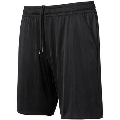 1 Stop Soccer Referee Soccer Short Solid Black 4 Pockets
