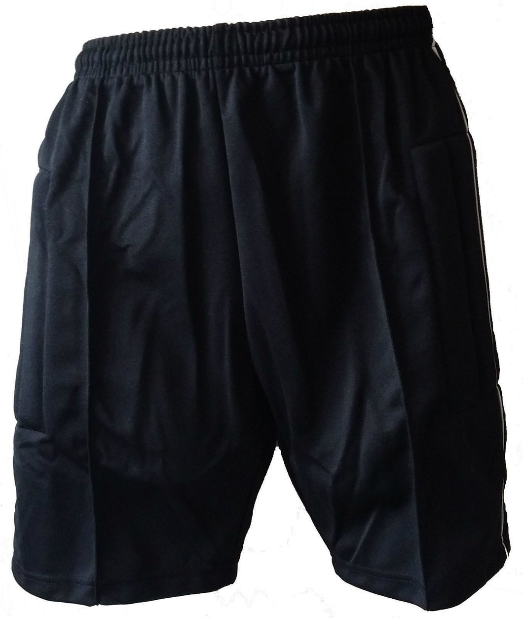 Soccer Goalkeeper Shorts Padded Black Goalie
