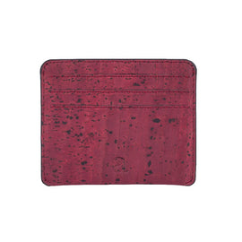 Reilly Card Case - Maroon