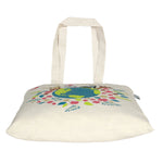 Cotton 'Happy Planet' Tote Bag