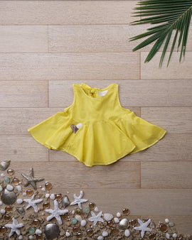 'Beach Bum' in Sunshine Yellow