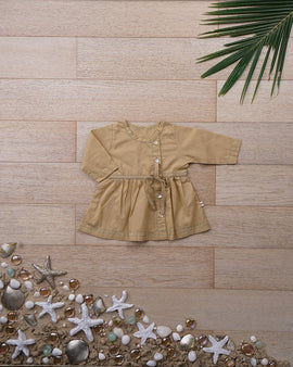 'Big Warm Bear Hug' with Sleeves - Girls (0-6 months)