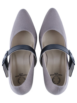Grey Matter | Handcrafted Vegan Heels