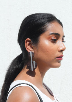 Klee - Reclaimed Wood Earring