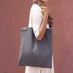 Achromatic Reversible Tote Bag
