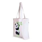 Large  'Bamboozled Panda' Tote Bag