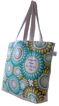 Large 'Floral' Tote Bag