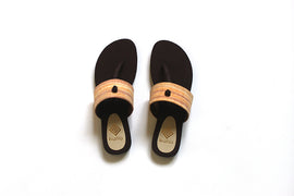Apricot | Upcycled Handcrafted Footwear