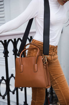 Trapeze Tan | Handcrafted Vegan Bags