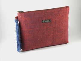 Recycled Paper Clutch | Red