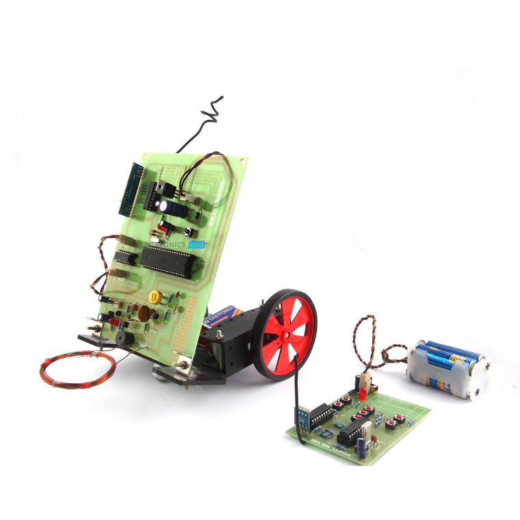 Metal Detector Robotic Vehicle