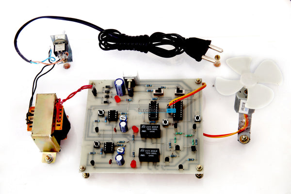 Four Quadrant DC Motor Control without Microcontroller