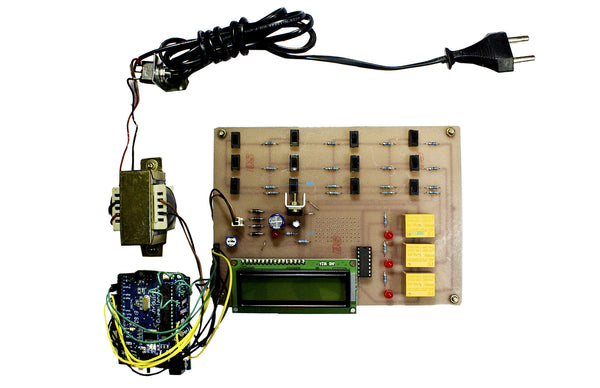 Arduino based Underground Cable Fault Detection