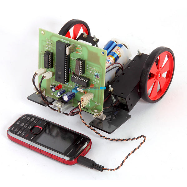 Cell Phone Controlled Robotic Vehicle
