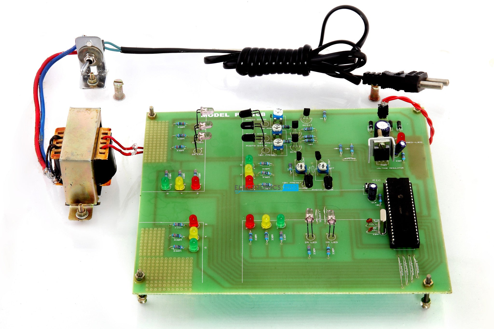 Density based Traffic Signal System using PIC Microcontroller
