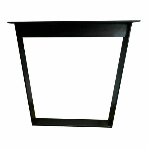 Industrial Steel Trapezoid Table Frame