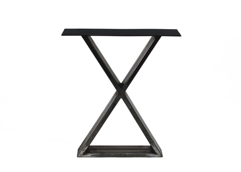 """X"" Shaped Steel Table Legs"