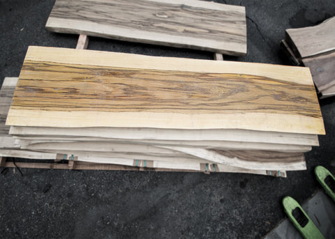Dragon Wood/Sura 99x25x3 Exotic Slab (J18438)