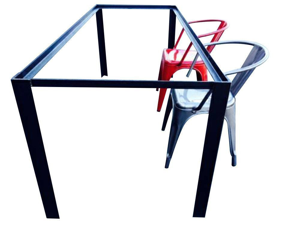 Angle Iron Table Frame - American Wood Importers
