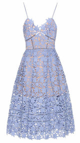 Magnolia Dress Ocean Blue