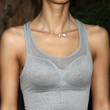Peachy Push Up Sports Tank Top