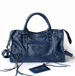 City Bag Blue