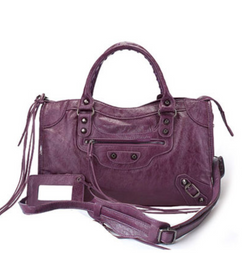 City Bag Purple