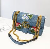 Broadway Denim Crossbody
