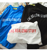 Like, Realizing Stuff T Shirt