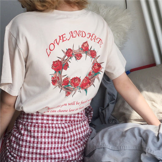Love and Hate T Shirt