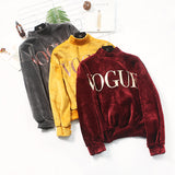 Velvet Vogue Sweater