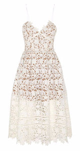 Magnolia Dress White