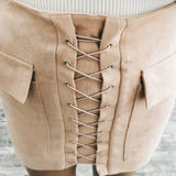 Ava Skirt Taupe