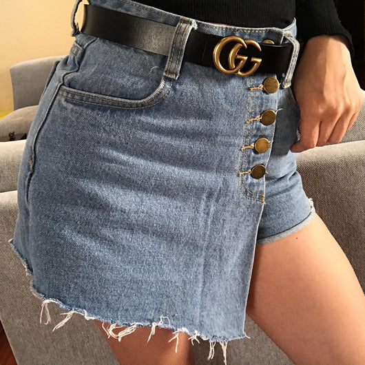 Jessie Denim Skort