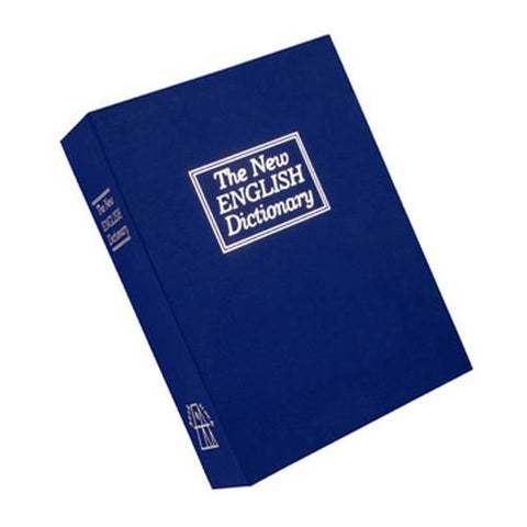 Deluxe Diversion Book Safe - Blue