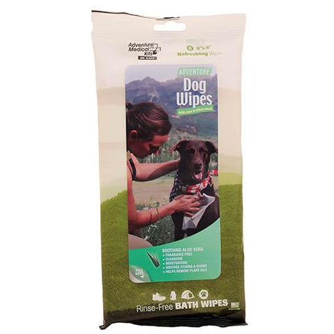 Adventure Dog Wipes, Per 8