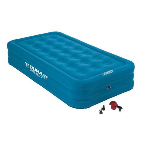 Airbed - Twin Double High Height Dura Plus w-120V Combo
