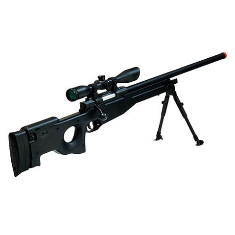 Airsoft Shadow Ops Sniper Rifle - Black