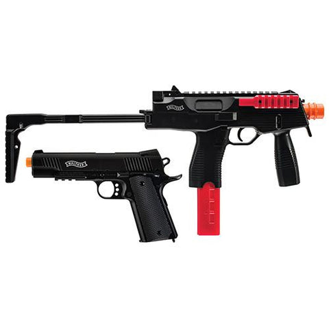 6mm Walther Tactical Airsoft Kit - Black-Red