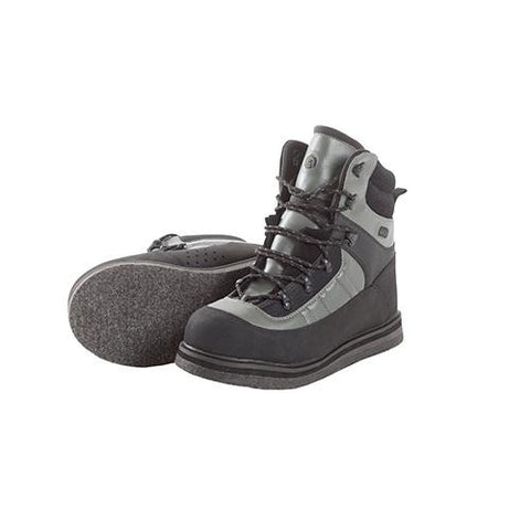 Wading Boot - Sweetwater Felt Sole, Size 13, Gray and Black