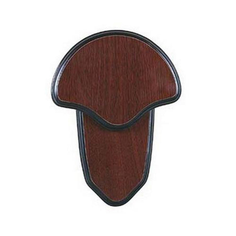 Mounting Kit - Turkey Tail, Hardwood Plaque