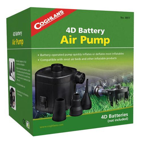 4D Battery Air Pump