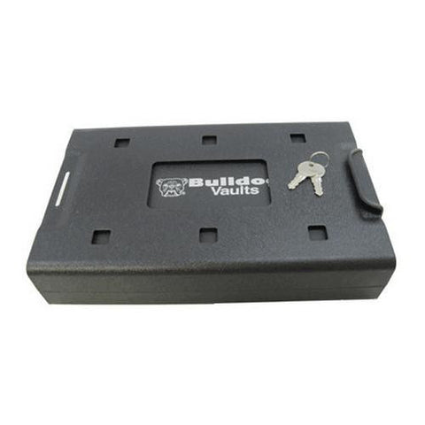 "Car Safe - Key Lock, Black 11.3"" X 6.9"" X 2.2"""