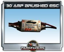 Parkflyers 30 Amp Brushed ESC