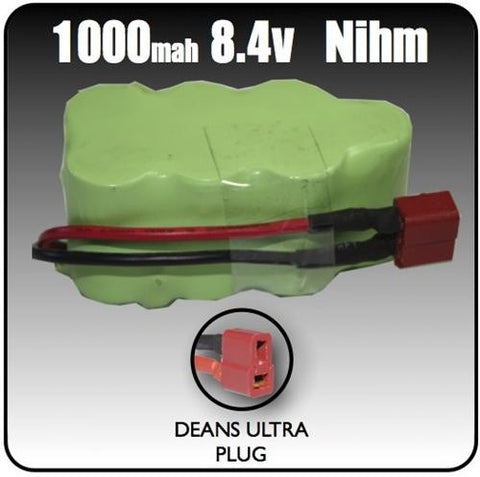 1000mah Nihm 8.4 Volt 7 Cell Battery