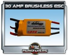 Parkflyers 30 Amp Brushless ESC