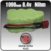 1000mah Nimh 8.4 Volt 7 Cell Battery